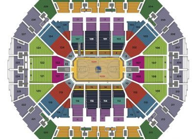 oracle-arena-seating-chart